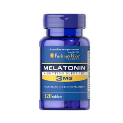 Puritan`s Pride Melatonin 3 mg 120 caps