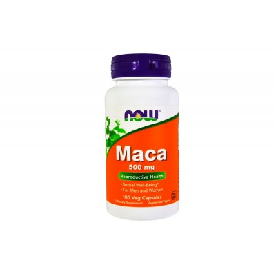 NOW Maca 500 mg 100 caps