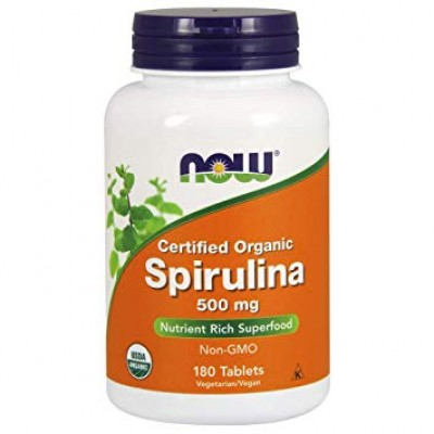 NOW Spirulina 500 mg 180 tabs
