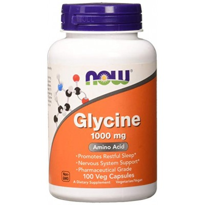 NOW Glycine 1000 mg 100 caps