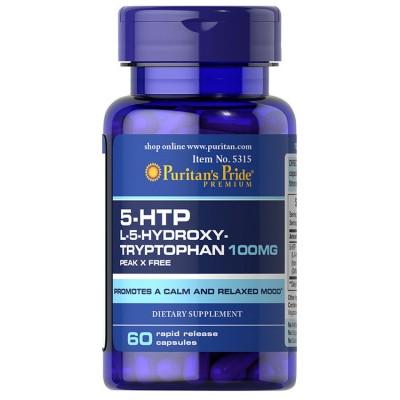 Puritan`s Pride 5-HTP 100 mg 60 caps