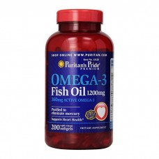 Puritan's Pride Omega-3 1200 mg 200 soft