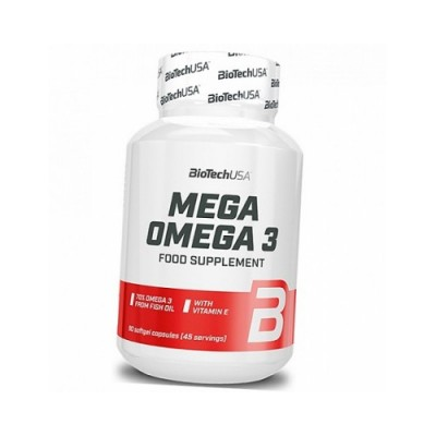 BioTech Mega Omega 3 90 soft