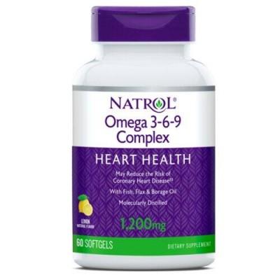 Natrol Omega 3-6-9 1200 mg90 soft