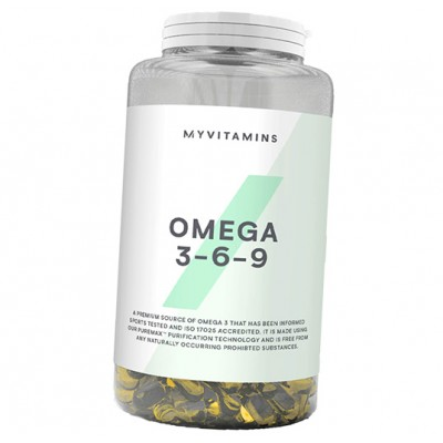 MyProtein Omega 3-6-9 1000 mg 120 caps