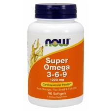 NOW Super Omega 3-6-9 1200 mg 90 soft
