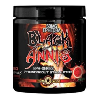 Gold Star Black Annis 50 serv