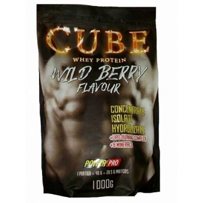 Power Pro CUBE Whey Protein 1 kg