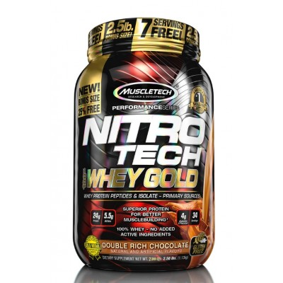 MuscleTech Nitro Tech Whey Gold 1.1 kg