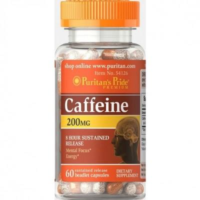 Puritan`s Pride Caffeine 200 mg 60 caps