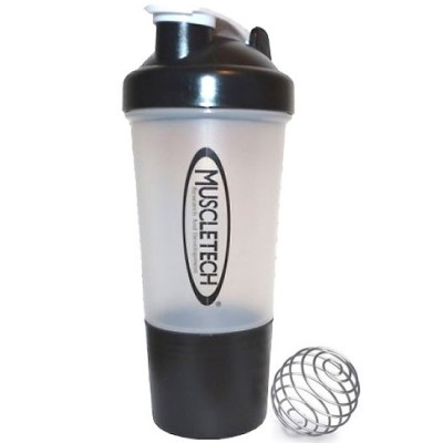 MuscleTech Shaker with metal ball 2 in 1 500 ml
