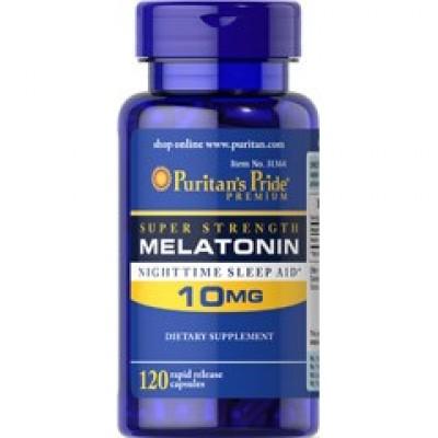 Puritan's Pride Melatanin 10 mg 120 caps