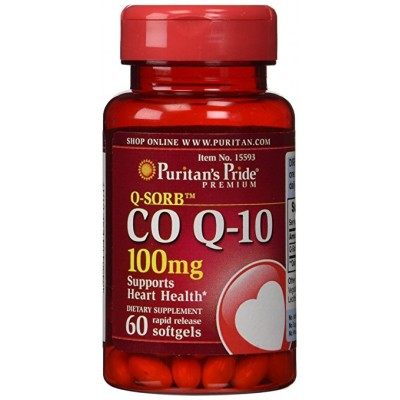 Puritan's PrideCO Q-10 100 mg 60 softgels