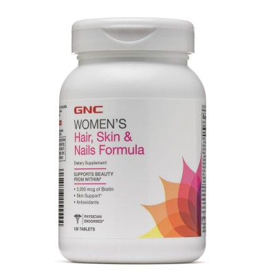 GNC Women's Hair Skin & Nails formula 120 tabs