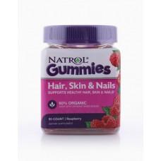 Natrol Gummies Hair, Skin & Nails 90 gummies