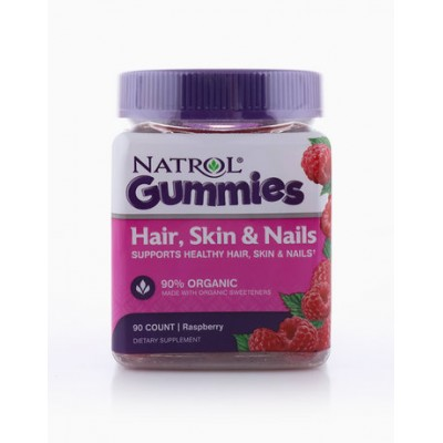 Natrol Gummies Hair, Skin & Nails 90 gummies