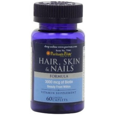 Puritan's Pride	Hair Skin Nails 60 caplets